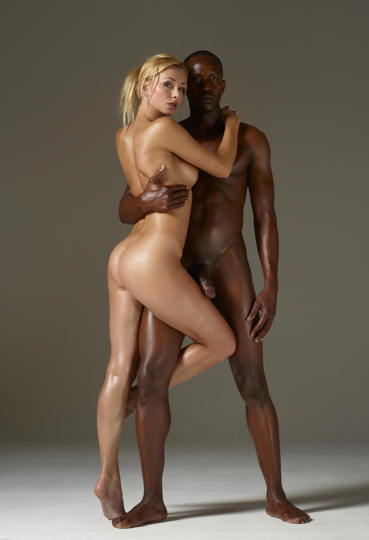 Phrase, matchless))), Naked horny couples in black and white seems